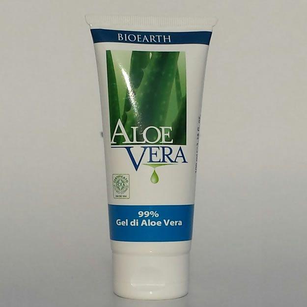 Aloe Vera Gel 99% Per Uso Esterno Bioearth