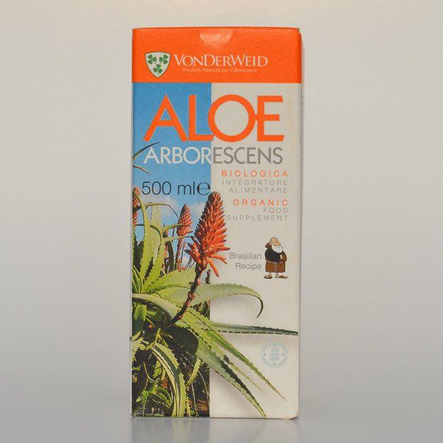 Aloe Arborescens Con Alcol 500ml – Ricetta Di Padre Romano Zago