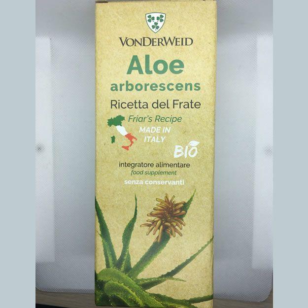 Aloe Arborescens BIO 500ml – Ricetta Di Padre Romano Zago