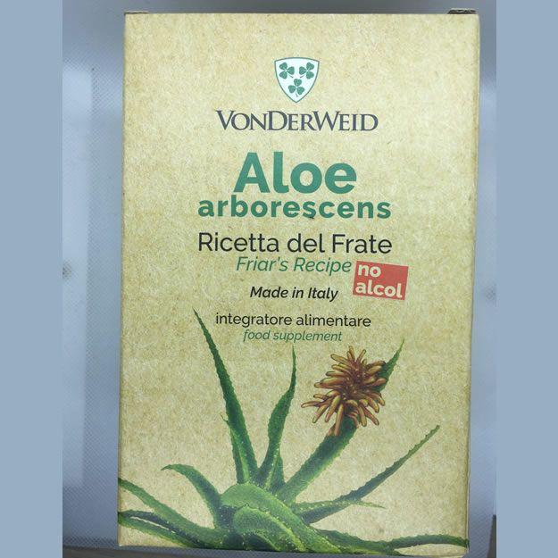 Aloe Arborescens BIO Senza Alcol 830gr – Ricetta Di Padre Romano Zago
