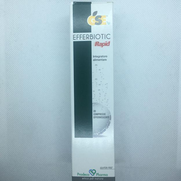 GSE Efferbiotic Rapid 20cpr