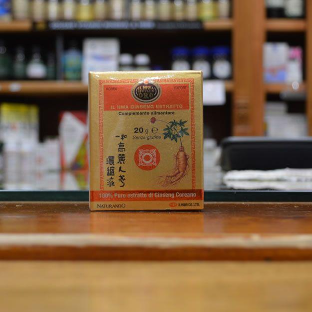 Puro Ginseng Coreano Estratto Molle- HWA Sigillo Oro- 20gr
