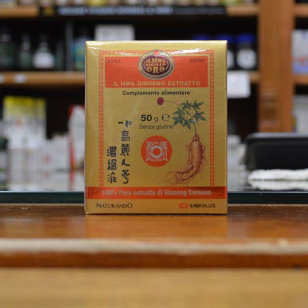 Puro Ginseng Coreano Estratto Molle- HWA Sigillo Oro- 50gr