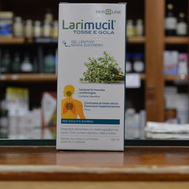 Larimucil Sciroppo Tosse E Gola- Senza Zucchero