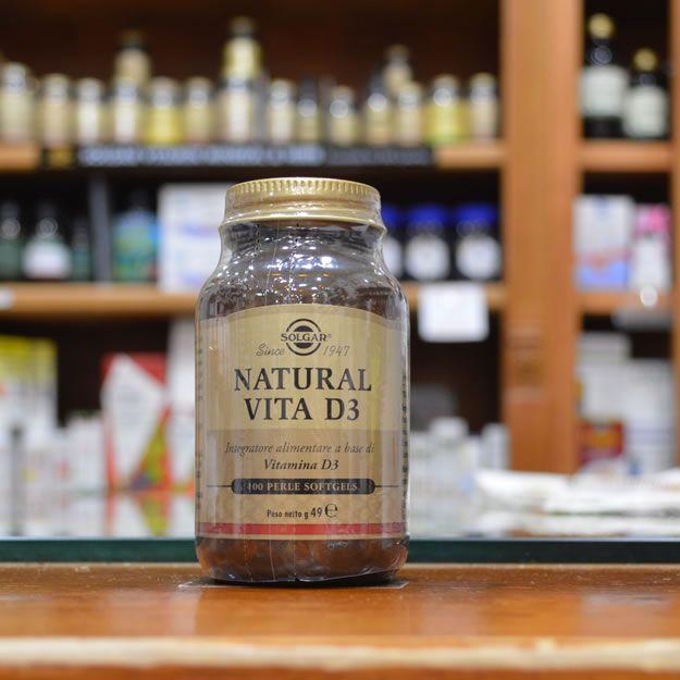 Natural Vita D3 Solgar