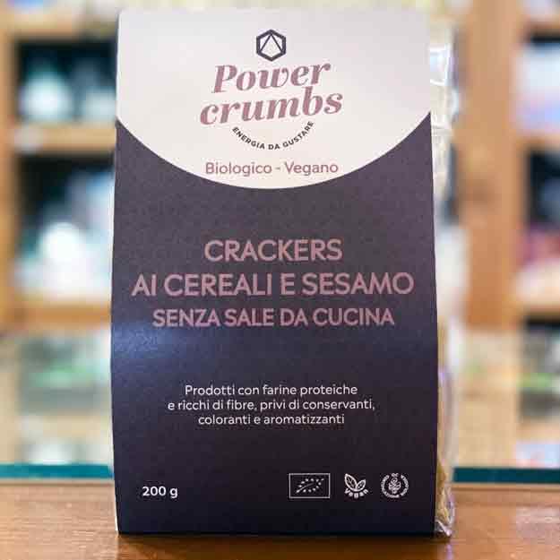 Crackers Cereali E Sesamo Bio E Vegan
