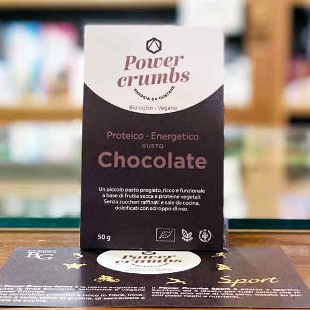 Power Crumbs Chocolate Gluten Free, Bio E Vegan