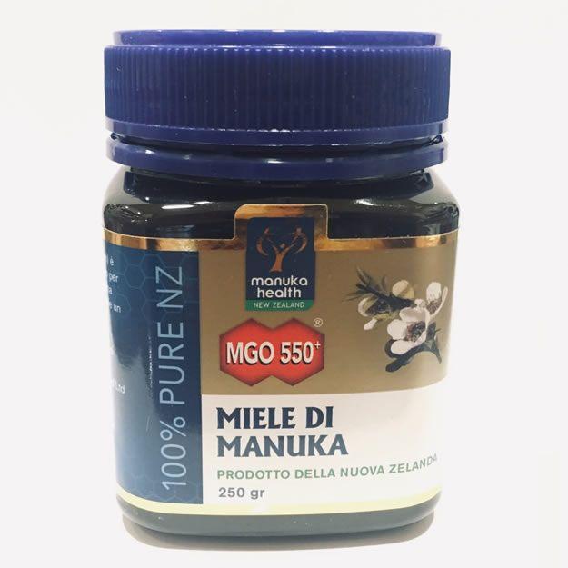 MIELE DI MANUKA 250 GR 550MGO