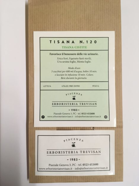 Tisana N°120 Cistite